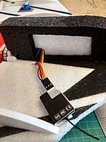 Name: scout 5.jpg Views: 40 Size: 179.4 KB Description: 5mm EPP partition Frsky Rx