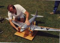 "Name: DC-3 D.jpg Views: 364 Size: 105.2 KB Description: For scale ... 74"" wing span"