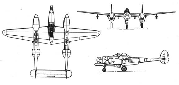 Diagram P 38 Lightning | Wiring Diagram