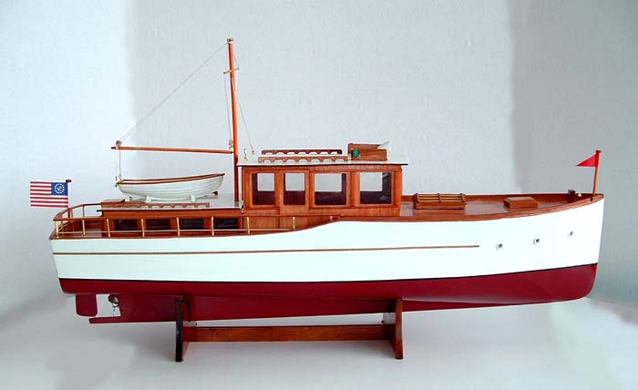 Attachment browser: 1920-30 Classic Motor Yacht.jpg by norgale - RC Groups