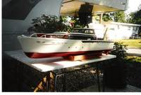 Name: Model of 63' Chris Craft cruiser.jpg