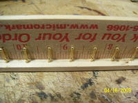 Name: Athena rails 003.jpg Views: 161 Size: 93.9 KB Description: Harbor Models three ball stanchions cut to two ball height and inserted into the drilled holes.