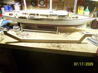 Name: Pushin' barge backbone 001.jpg Views: 457 Size: 85.2 KB Description: Bow is to the left,the pointy end.