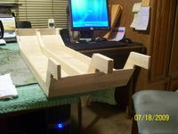 Name: Pushboat hull 002.jpg Views: 398 Size: 78.7 KB Description: Stern needs to be heavier.