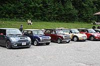 Name: IMG_0248.jpg Views: 56 Size: 302.4 KB Description: We did get into exotic company when we attended a rally in New Hampshire and were the only classic Mini to climb Mt Washington