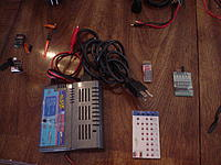 Name: DSC01978.jpg Views: 191 Size: 290.0 KB Description: quattro pro charger w/jst out and microdeans adapter. volt tester,esc card,blinky balancer