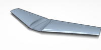 Name: Wingwithintakearea.png Views: 36 Size: 217.5 KB Description: Here room for intakes have been cut into the wing.  I plan to cnc mill this area into my existing semi-finished wing plug.