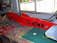 Name: Crash 170509001.jpg Views: 125 Size: 225.7 KB Description: Seagull Sparrowhawk electric 10 cell conversion doesn't survive a cartwheel down strip very well.  Now repaired and still a favourite.