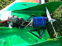 Name: 100_5484.jpg Views: 137 Size: 246.7 KB Description: 2nd ICE200 Lite lasted about 3 minutes of flight.  Motor fused first causing the speedy to capitulate.