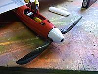 Name: RIMG0007.jpg Views: 171 Size: 250.3 KB Description: 8.5 x 23 Blades on RFM 38mm spinner