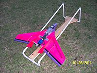 Name: 100_5380.jpg Views: 257 Size: 309.1 KB Description: Shows the set up with the two rings on the bungee line