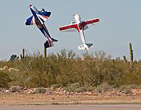 "Name: AJ Laser 03.jpg Views: 982 Size: 298.0 KB Description: Andrew Jesky Laser 230z at the Arizona Electric Fest 2014 and a 60"" EF Extra 300-EXP"
