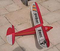 "Keil Kraft Bill Dean designed ""Bandit"", 120 watt electric RET controls AUW 16.5 ounces"