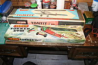 """Name: IMG_4304.jpg Views: 101 Size: 810.5 KB Description: Both kits are in mint condition and untouched, the Tomtit is absolutely complete but unfortunately the ABS cowl is missing from the DVIII,  No big issue, one can easily be made from 1/32"""" ply and balsa."""