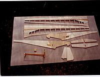 """Name: Mucha2.jpg Views: 287 Size: 125.8 KB Description: Kit of bits for the Mucha standard profile scale glider, note surface hardwood spars built into """"D"""" box sheeting and rib capstrips"""