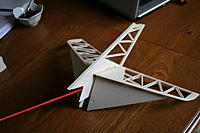 Name: IMG_1805.jpg Views: 153 Size: 148.0 KB Description: Two 90 degree supports used to align tailplanes squarely whilst stubs are cyanoed to fin