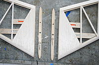 Name: IMG_1804.jpg Views: 158 Size: 279.3 KB Description: Tailplane stubs prepared ready for attachment to fin, shaped to match tailplane roots.