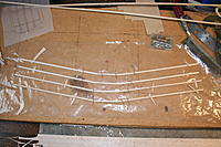 """Name: IMG_2883.jpg Views: 22 Size: 452.2 KB Description: First assemble the spars with braces; the 18"""" model has two 1/8"""" square bottom spars whereas the 27 has one 1/8"""" x 1/4"""""""