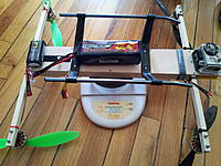 Name: 2012-11-30 16.59.58.jpg Views: 409 Size: 270.2 KB Description: Total weight H-Quad with FPV gear.