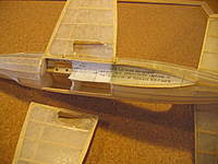 Name: 2.jpg Views: 204 Size: 71.4 KB Description: I made same changes to the original kit structure but I completely goofed the wing which didn't survive the hard landing!