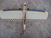 Name: 5.jpg Views: 72 Size: 244.5 KB Description: Wing glued to the fuselage. Ailerons threaded.