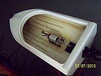 "Name: 100_7659.jpg Views: 15 Size: 648.0 KB Description: Big 40mm motor looks small in 34"" Davette"