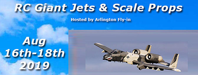 Arlington Fly in - Giant Jets and Scale Props