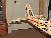 Name: IMG_0150.jpg Views: 545 Size: 185.1 KB Description: rear of fuselage with empennage plugged in