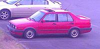 """Name: Jetta1.jpg Views: 62 Size: 73.1 KB Description: As it looks now.  15"""" steel Corrado wheels."""