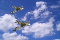 Name: Spitfire in the Clouds.jpg Views: 220 Size: 66.5 KB Description: