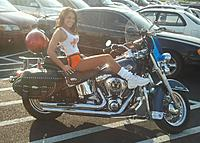 Name: Hooter girl Jessie on bike 02.jpg
