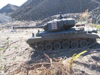 Name: IMG_1803.jpg Views: 170 Size: 161.3 KB Description: M26 Pershing fitted with metal tracks