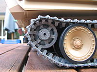 Name: Jagdpanther 018.jpg Views: 106 Size: 212.8 KB Description: Naked straight outa the box - metal tracks & rear idle wheel