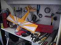 Name: PIC_1706.jpg Views: 361 Size: 59.3 KB Description: To the left we have all my tools. Need more, as I keep on finding a job for a tool I don't have..