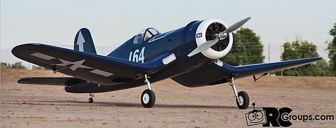 Phoenix Model F4U Corsair - RC Groups
