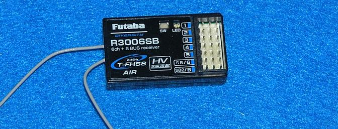 A 6 channel receiver or greater