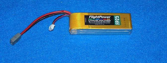 A 3 cell 2200 mAh battery