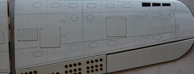Bottom left wing panel.