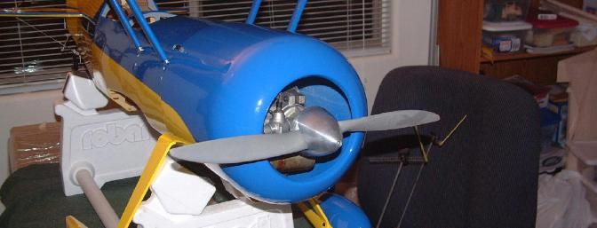 Fuselage is beginning to take shape. That gorgeous, huge gaping cowl is just screaming for...something...(see sidebar!)