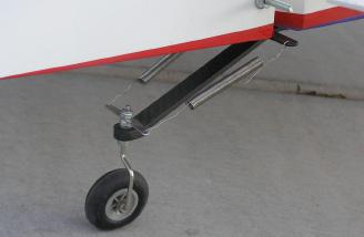 Very strong and high quality tail wheel assembly