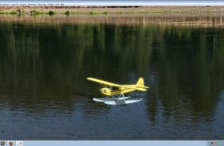 Only a J-3 Cub on floats can relax you like no other.