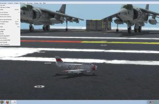 You can even fly a jet (F-86) off an Aircraft Carrier - but watch out for depth perception.