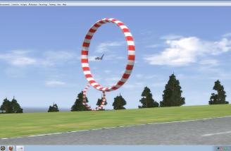 If you happen to bored, try flying the Lawn Mower through the Obstacle Course!