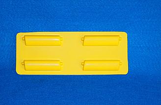 Plastic landing gear fairings. Easy to add to your model to give it a more scale appearance.