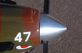 But not on the other...no right-thrust built into the cowl or cowl mounting.