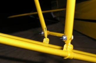 Well engineered Jury Struts held together with quality hardware.
