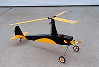 Name: Gyro3.jpg Views: 194 Size: 64.0 KB Description: The little gyro that could. (after crash photo) Landing gear bend fixed.
