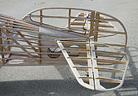 Name: PCA2_FlyingSurfaces_06.jpg Views: 105 Size: 257.1 KB Description: Tail Feathers. Same here with the balsa on the stabs where they meet the fuse. Not shown on the plans but needs to be done to look right when covered. Tail light here also needs teardrop diffusers from somewhere.