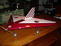 Name: IMGP0714.JPG Views: 16 Size: 2.53 MB Description: Sidewinder Delta Sidewinder Racer  (Wheels upgraded after picture and control rods changed to CF)