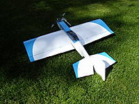 Name: IMGP0851_resize.jpg Views: 119 Size: 136.5 KB Description: My scratch built Twist 40.  Not a great flying plane IMHO.
